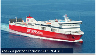 Anek-Superfast Ferries - Superfast I