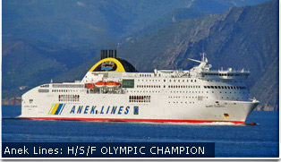 Anek Lines Ferries - Olympic Champion