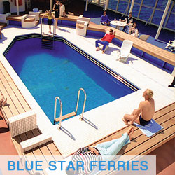 Blue Star Ferries Grecia
