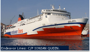 Endeavor Ferries - Ionian Queen
