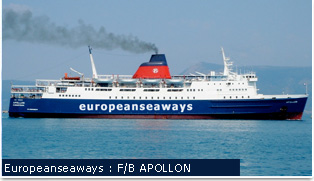 European Seaways Ferries - F/B APOLLON