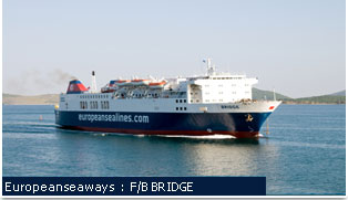 European Seaways Ferries - F/B BRIDGE