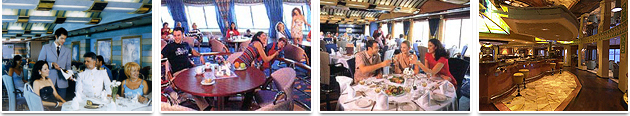 Restaurantes y Bares - Grimaldi Euromed Ferries