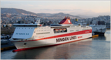 Camping on Board - Minoan Lines Ferries