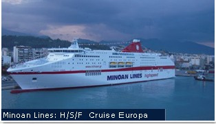 Anek Lines Ferries - CRUISE EUROPA