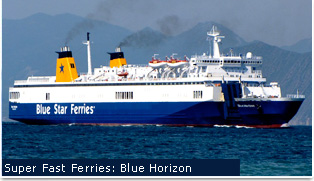 Superfast Ferries - Blue Horizon