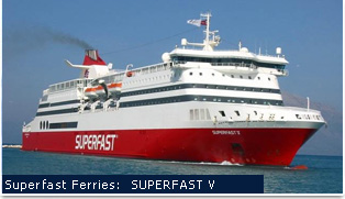 Superfast Ferries - Superfast V