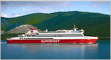 Camping à Bord - Superfast Ferries