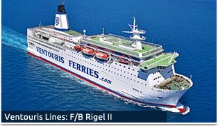 Ventouris Ferries - F/B RIGEL II