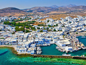 Ferry tickets to and from Paros