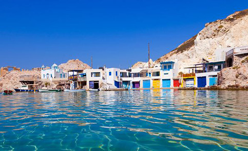 Ferry tickets from and to the island of Milos