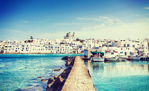 Ferry tickets from and to the island of Paros