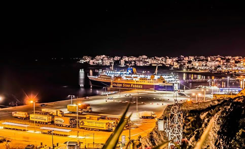Ferry tickets from and to Rafina (Athens)