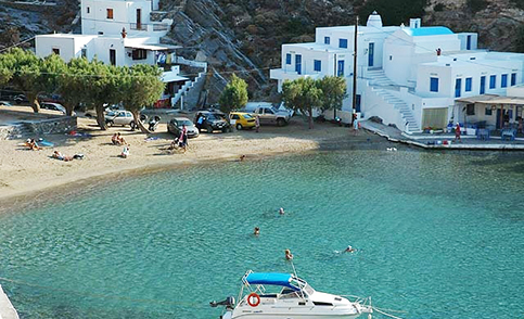 Ferry tickets from and to the island of Sifnos