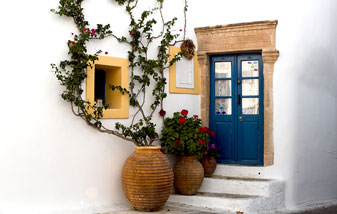 Architecture of Kythira Greek Islands Greece