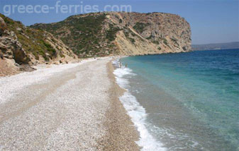 Kythira Greek Islands Greece Kombonada beach