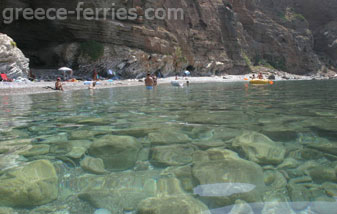 Kythira Greek Islands Greece Lykodimou beach