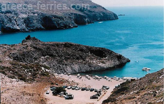 Kythira Greek Islands Greece Melidoni beach