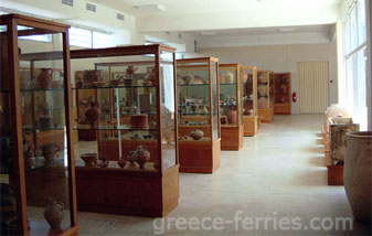 Sitia Archaeological Museum Lassithi Crete Greek Islands Greece