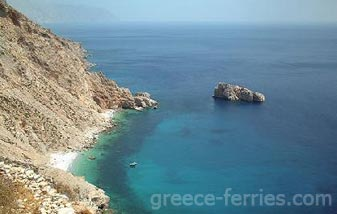 Agia Anna Beach Amorgos Cyclades Greek Islands Greece