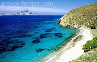 Aigiali Beach Amorgos Cyclades Greek Islands Greece