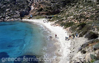 Maltezi Beach Amorgos Cyclades Greek Islands Greece