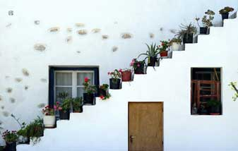 Architecture of Antiparos Cyclades Greek Islands Greece