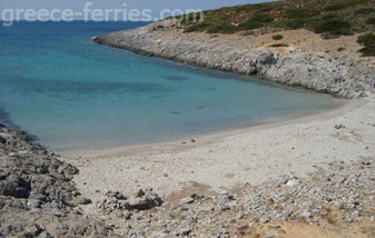 Faneromeni Beach Antiparos Cyclades Greek Islands Greece