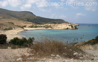 Livadi Beach Antiparos Cyclades Greek Islands Greece