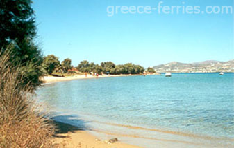 Psaralyki Beach Antiparos Cyclades Greek Islands Greece