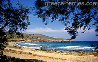 Sifnaikos Gialos Beach Antiparos Cyclades Greek Islands Greece