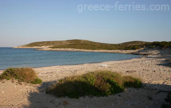 Soros Beach Antiparos Cyclades Greek Islands Greece
