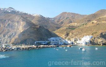 Agios Nikolaos Anafi Cyclades Greek Islands Greece