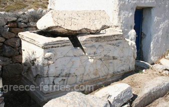 Archaeology of Anafi Cyclades Greek Islands Greece
