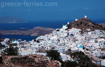 Architecture of Ios Cyclades Greek Islands Greece