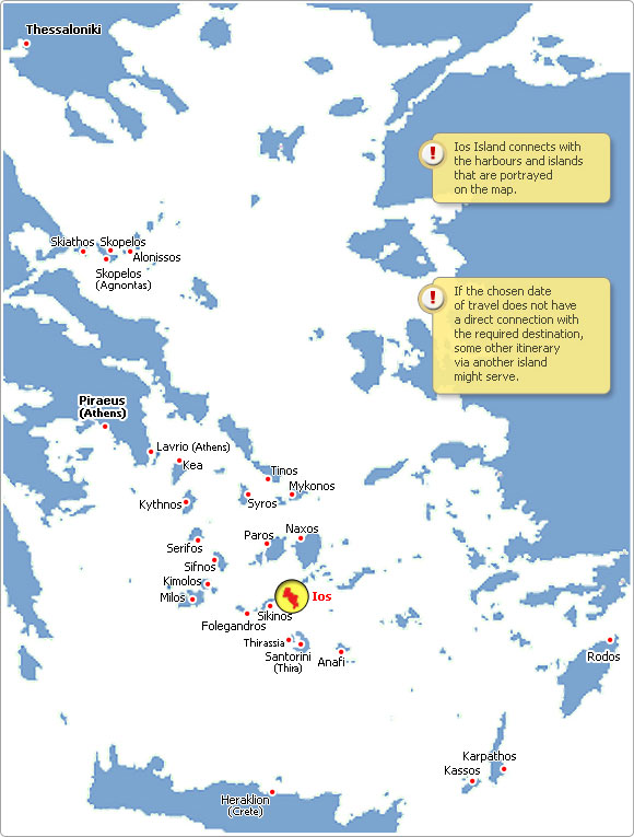 Ferries to Greece Weather in Ios