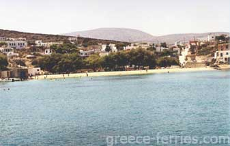Agios Georgios Beach Iraklia Island Cyclades Greece