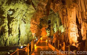 The Cave of Agios Ioannis Iraklia Island Cyclades Greece