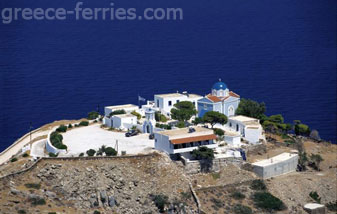 Monastery of Panagia Kastriani Kea Tzia Cyclades Greek Islands Greece
