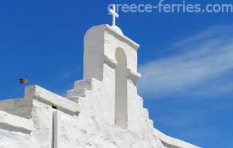 Churches & Monasteries Kimolos Island Cyclades Greece
