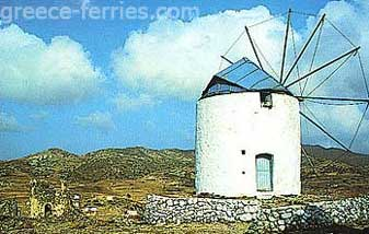 History of Kimolos Island Cyclades Greece