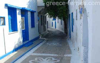 Architecture of Koufonisia Islands Cyclades Greece