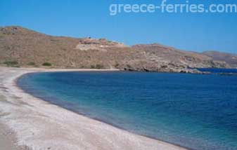 Beaches in Kythnos Island Cyclades Greece