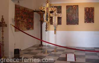 Byzantine Ecclesiastical Museum of Kythnos Island Cyclades Greece