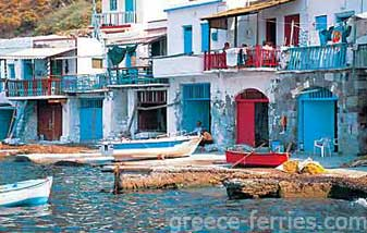 Architecture of Milos Island Cyclades Greece