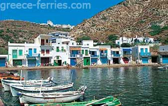 Klima Milos Island Cyclades Greece