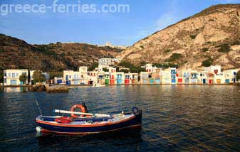 Klima Milos Cyclades Greek Islands Greece