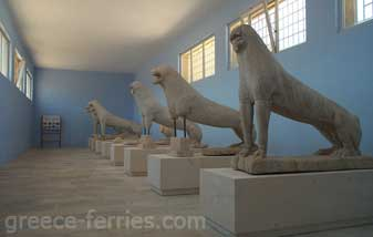 Dilos Archaeological Museum Mykonos Island Greece
