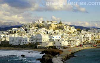 Chora Naxos Cyclades Greek Islands Greece