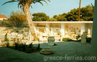 Archaeological Museum Paros Island Cyclades Greece